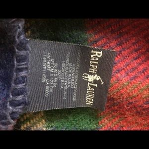 Ralph Lauren Bedding - Ralph Lauren tartan plaid blanket throw